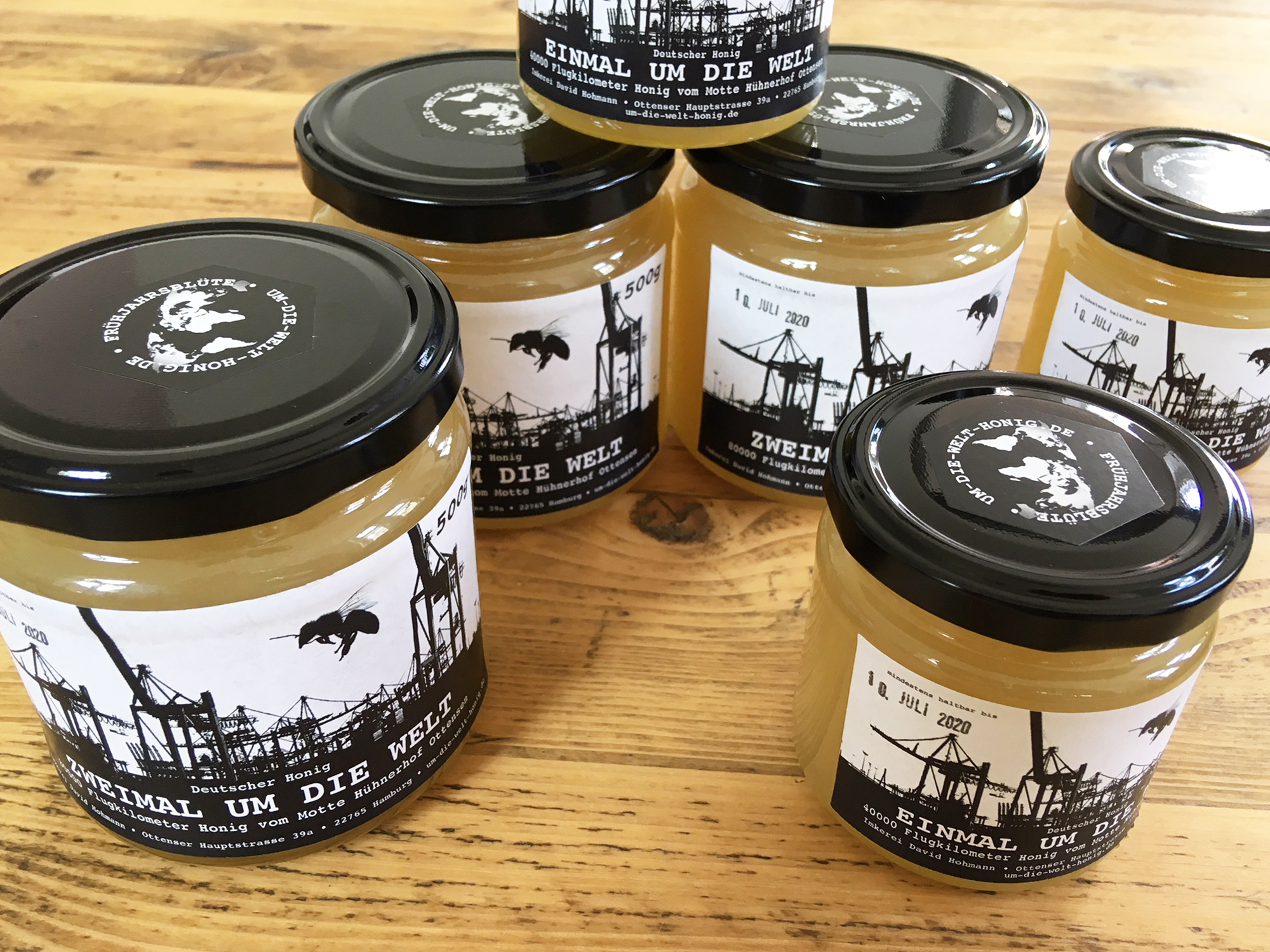 Honig - Um die Welt Honig - Ottensen, Motte