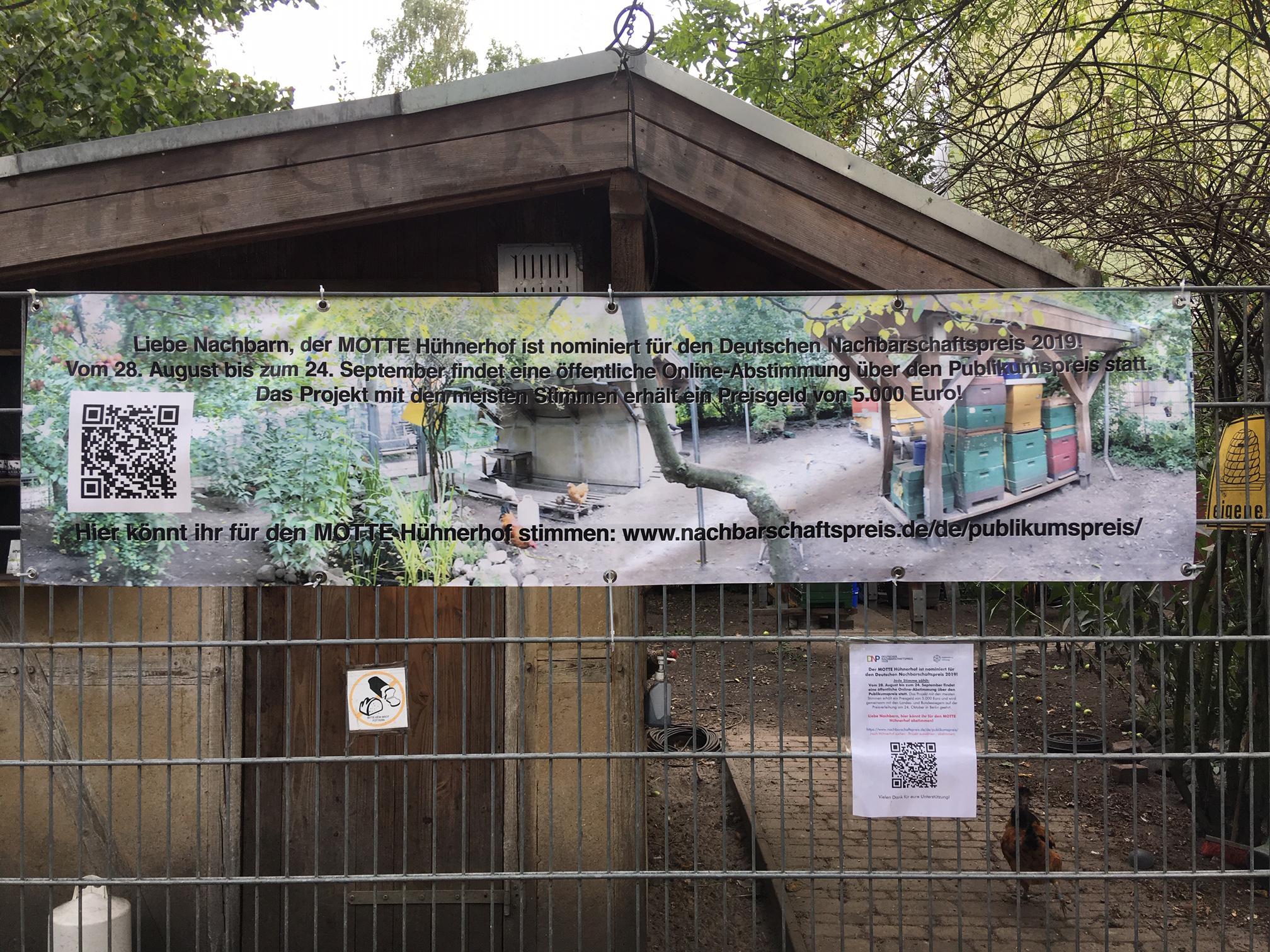 Deutscher Nachbarschaftspreis-MOTTE-Huehnerhof